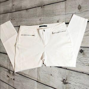 Ralph Lauren white skinny jeans size 14